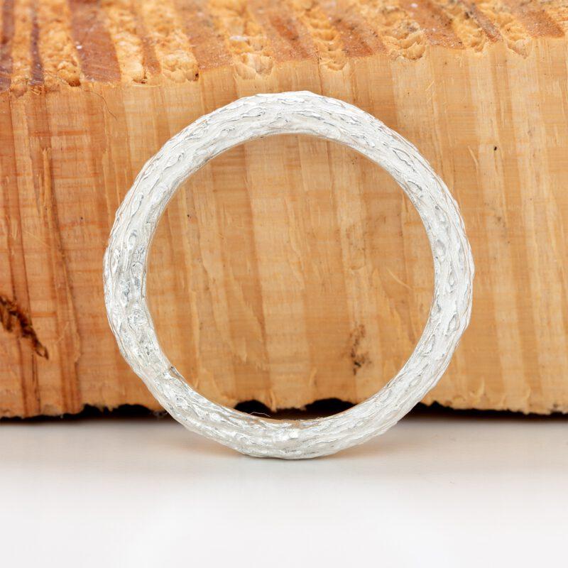 Fir branch ring side