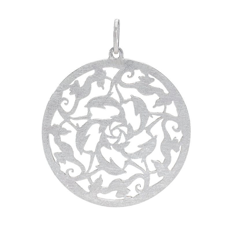 Dolphin and seahorse pendant