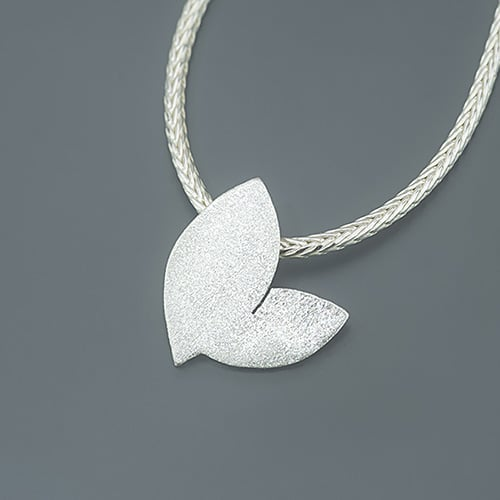 two leaves - pendant