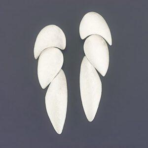 three-piece earrings
