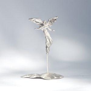 Floating angel - sculpture