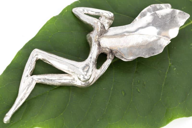 Schlafende Elfe - Skulptur