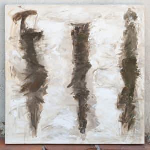 """Against the wind"" acrylic on canvas"