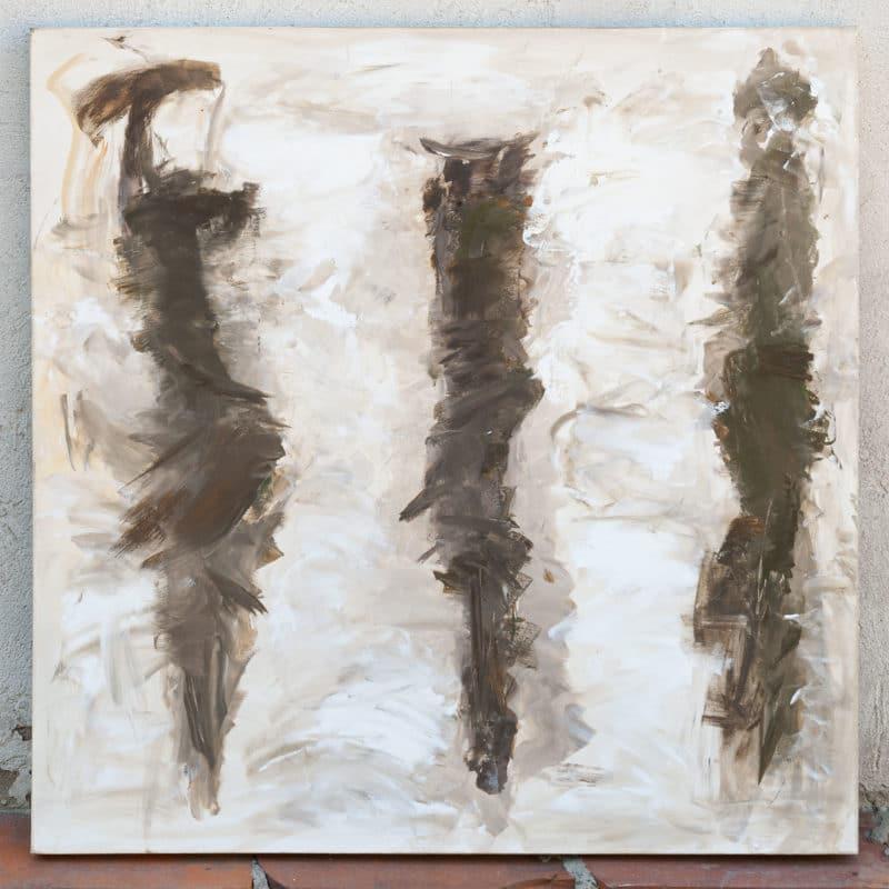"""""""Gegen den Wind"""" - Acryl auf Leinwand"""