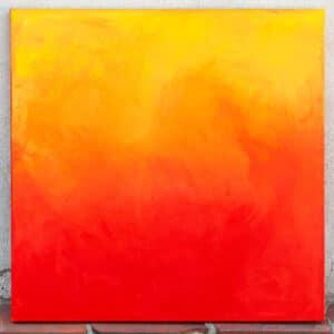"""Transition"" - acrylic on canvas"