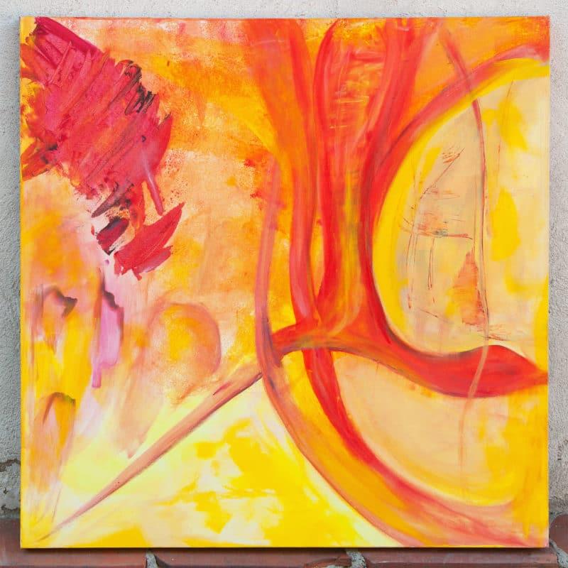 """""""Realities"""" - acrylic on canvas"""